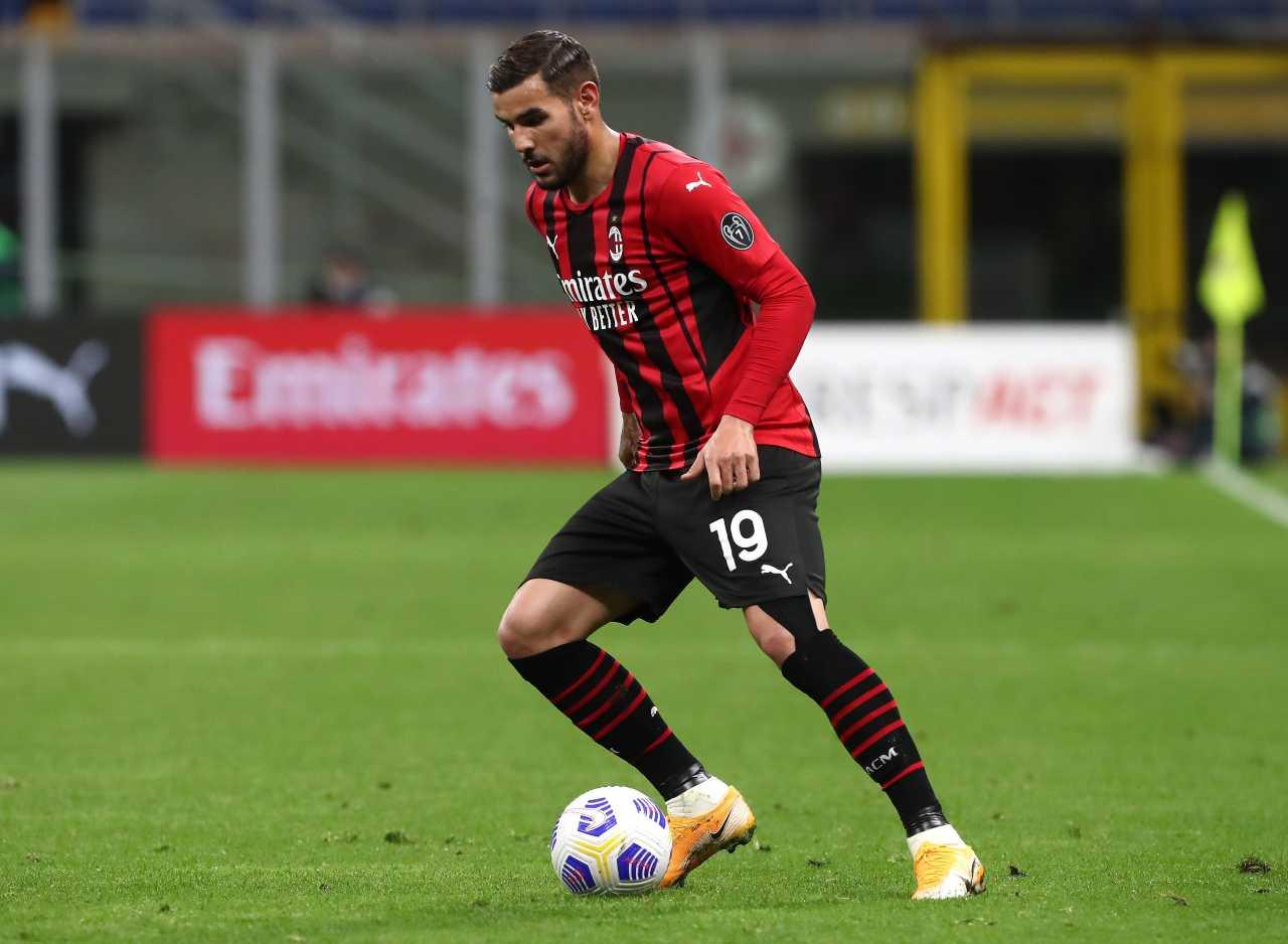 Calciomercato Milan Theo Hernandez Psg