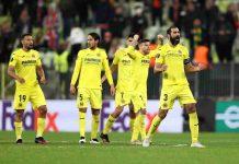 Europa League Villareal Manchester United tabellino De Gea Cavani Moreno