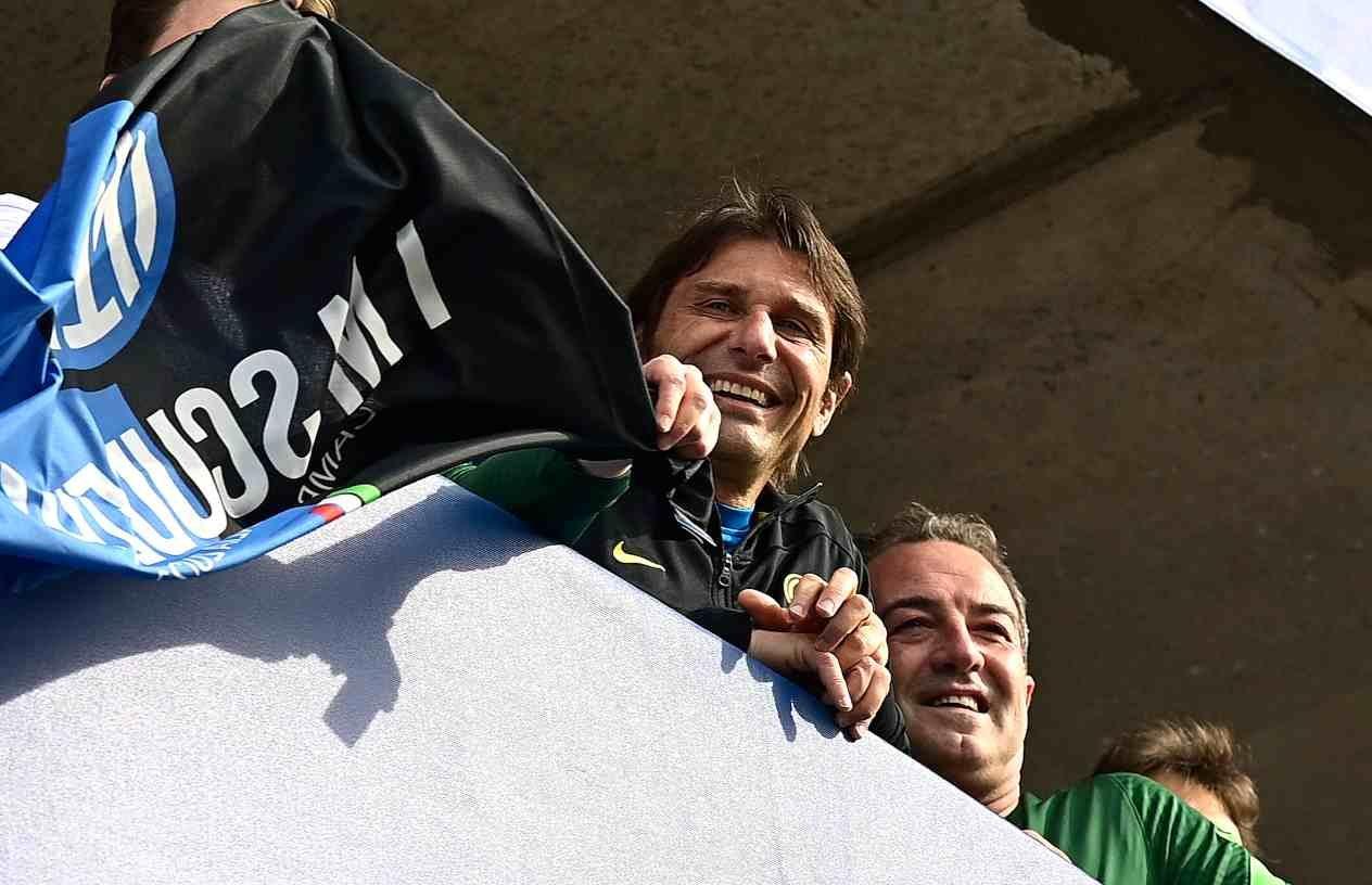 Conte Inter calciomercato Addio