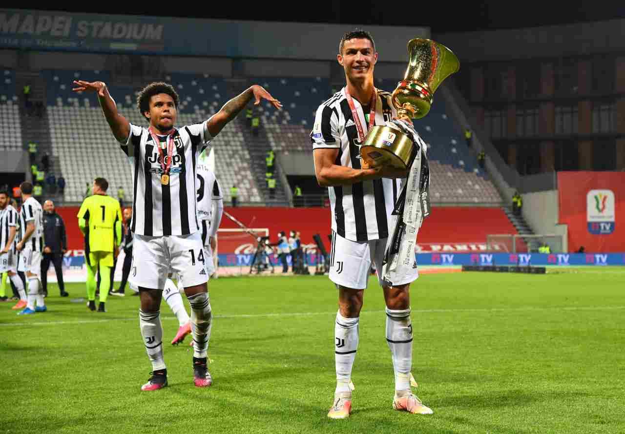Ronaldo addio Juventus