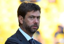 Juventus UEFA Superlega Champions League Ceferin Agnelli