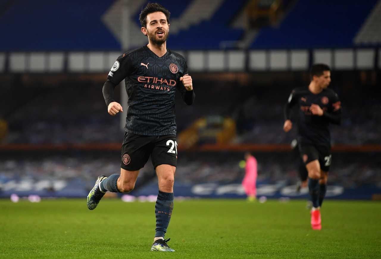Calciomercato Milan Bernardo Silva