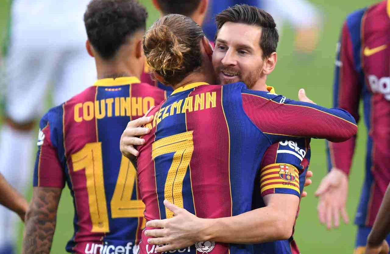 Calciomercato, Koeman esalta Griezmann | Niente da fare per la Juventus