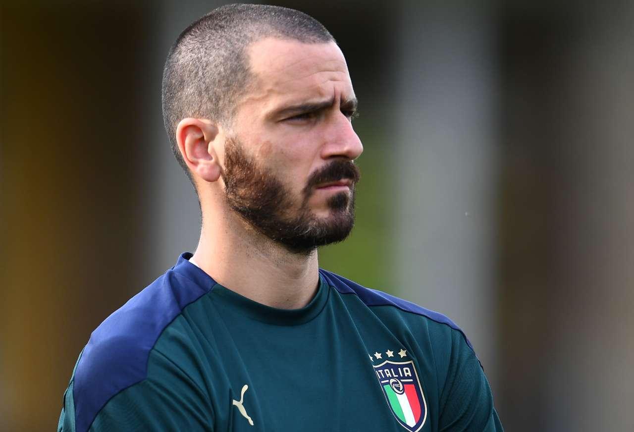 Bonucci Italia calciomercato Tottenham