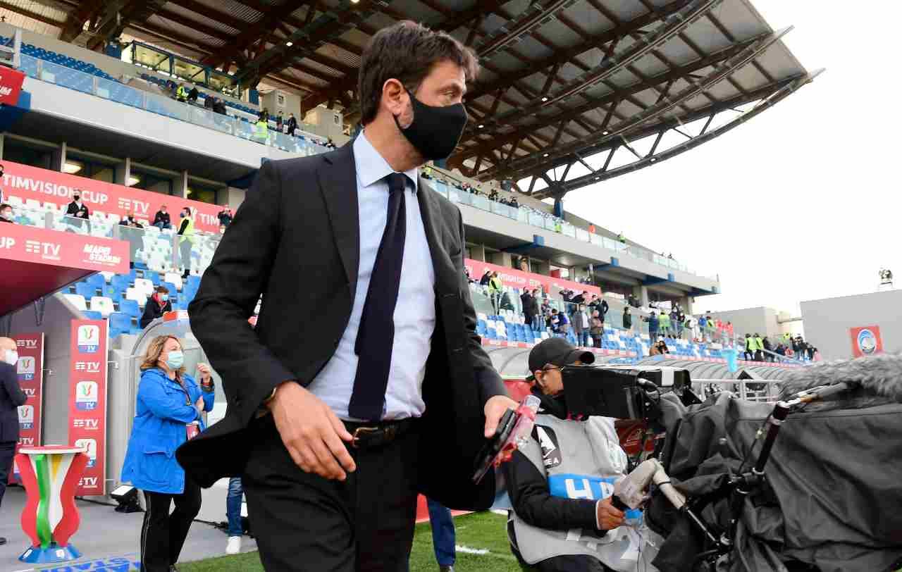 Agnelli Juve Cessione