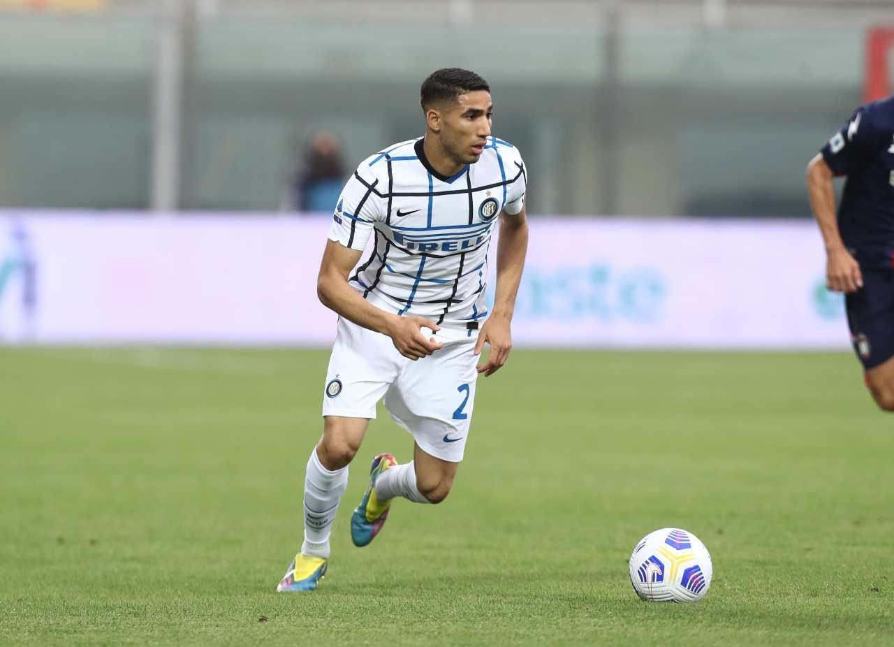 Hakimi Inter addio