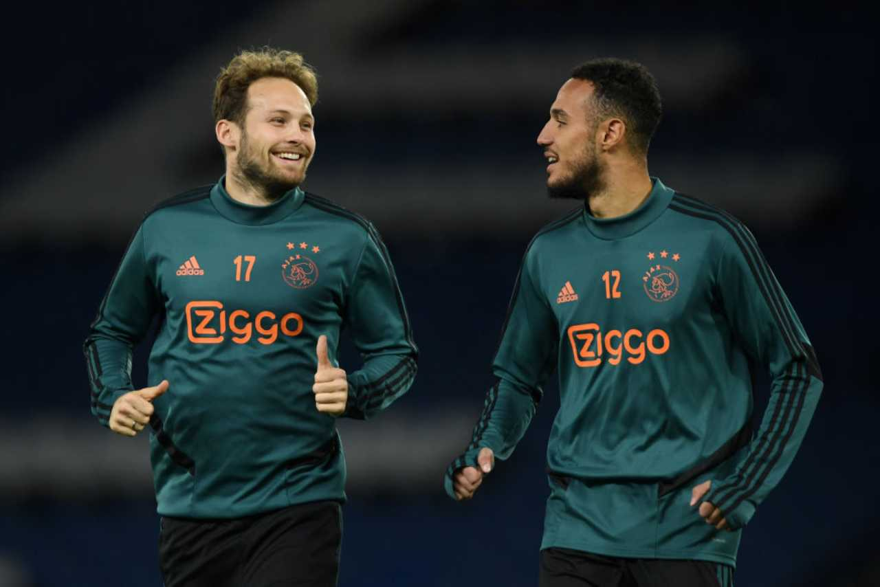 Milan Juventus Mazraoui Ajax Danilo Roma Florenzi