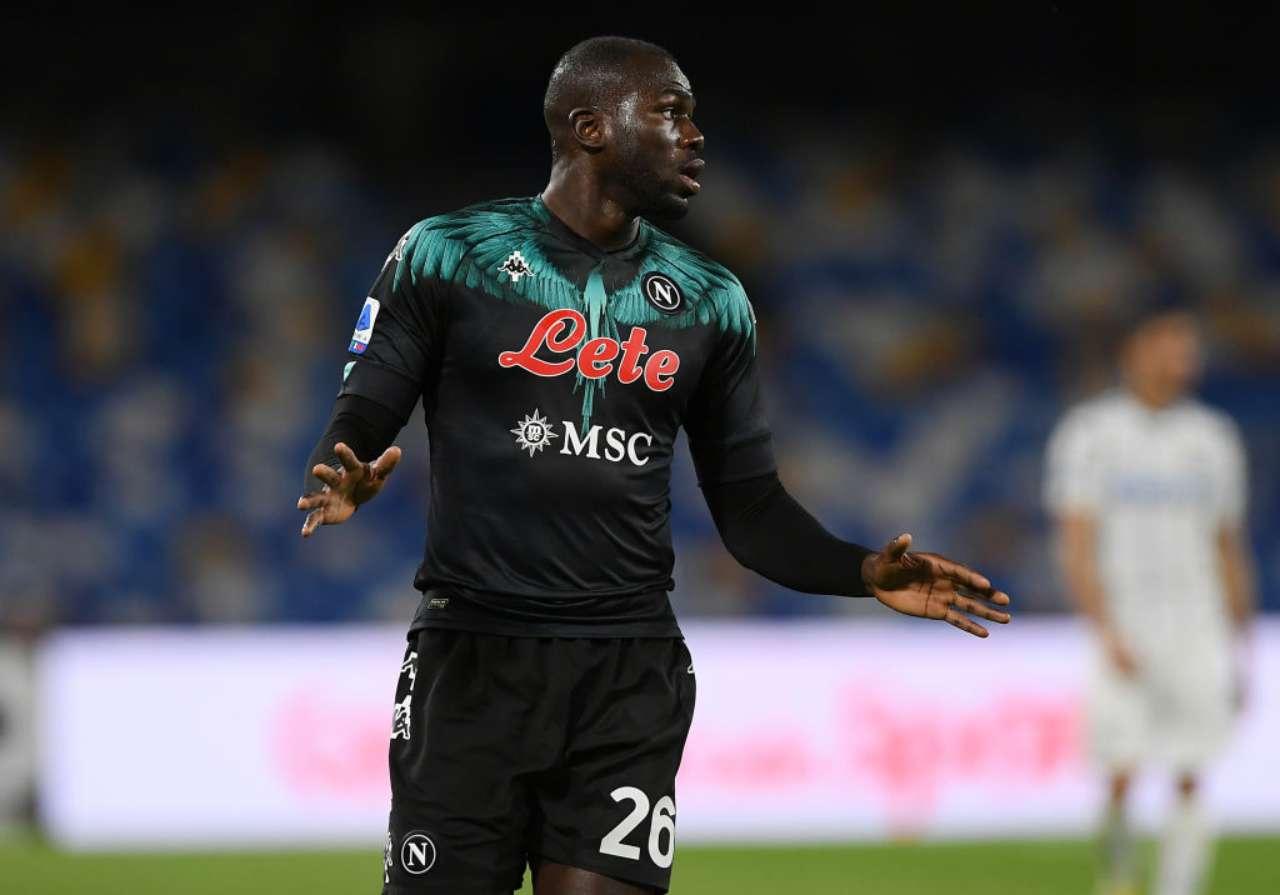 Koulibaly decisione Giudice Sportivo