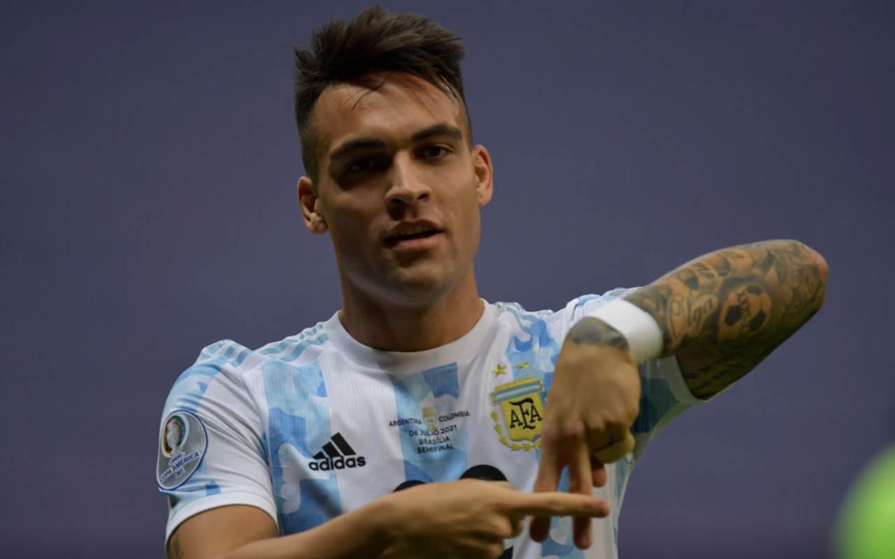 Inter Lautaro Hakimi atletico Madrid Trippier