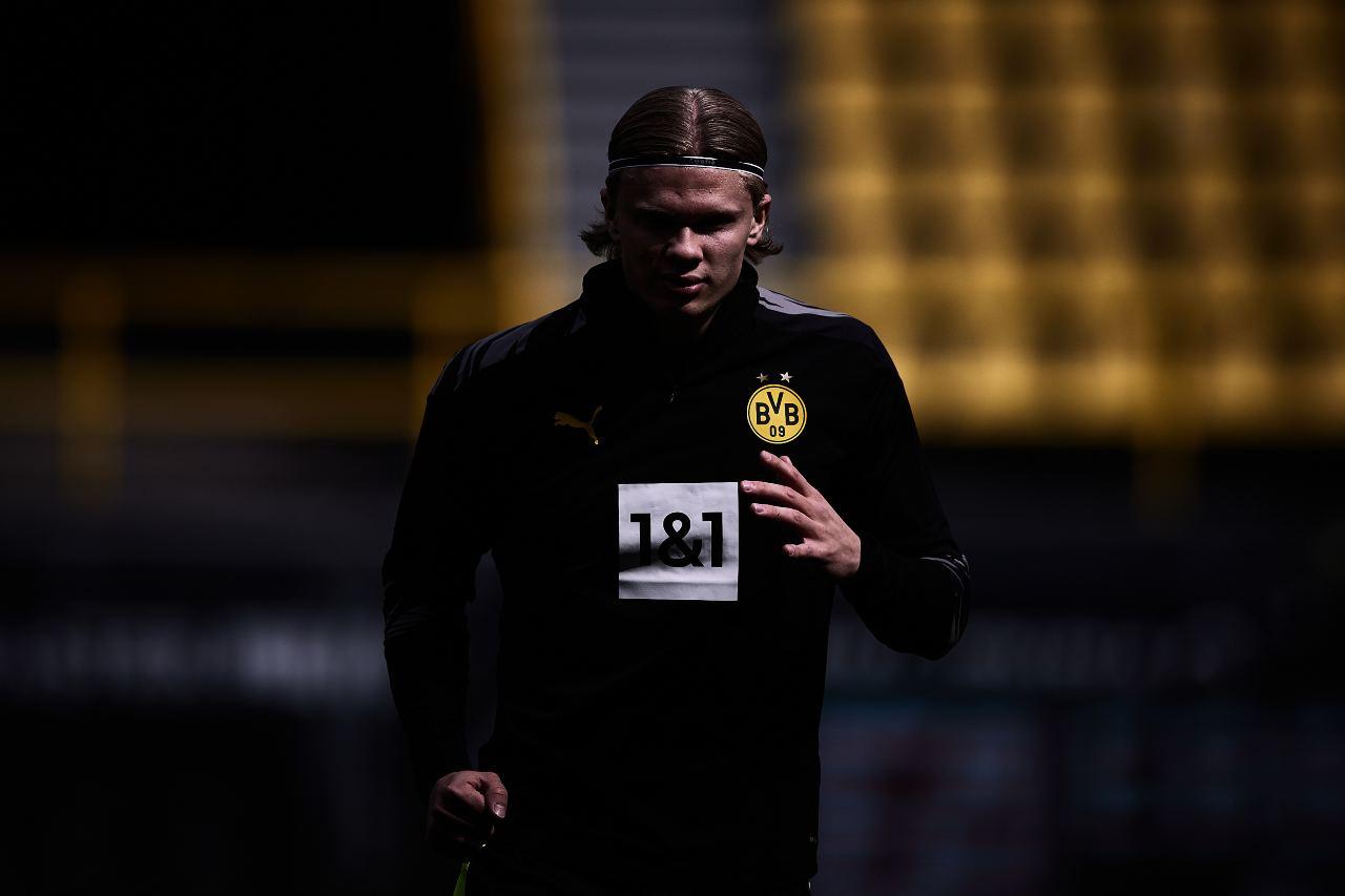 Juventus Haaland Borussia Dortmund Bernardeschi Demiral