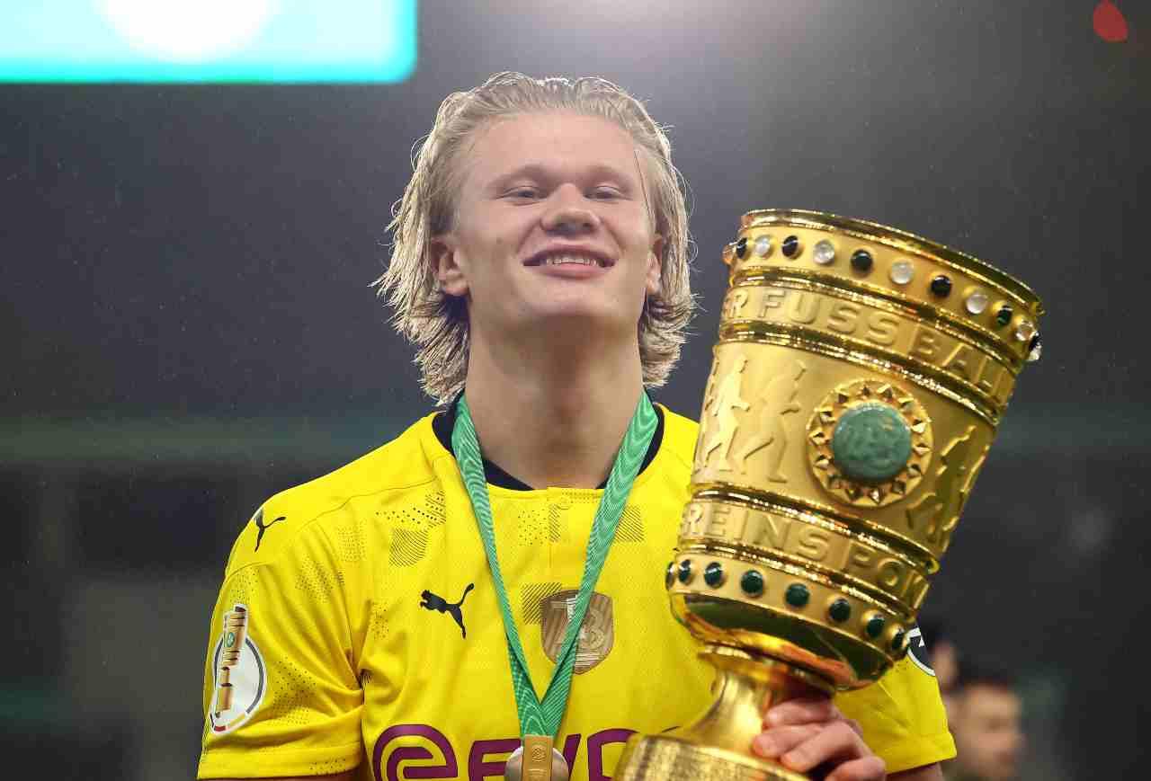 Haaland Borussia Dortmund Juventus Demiral Bernardeschi