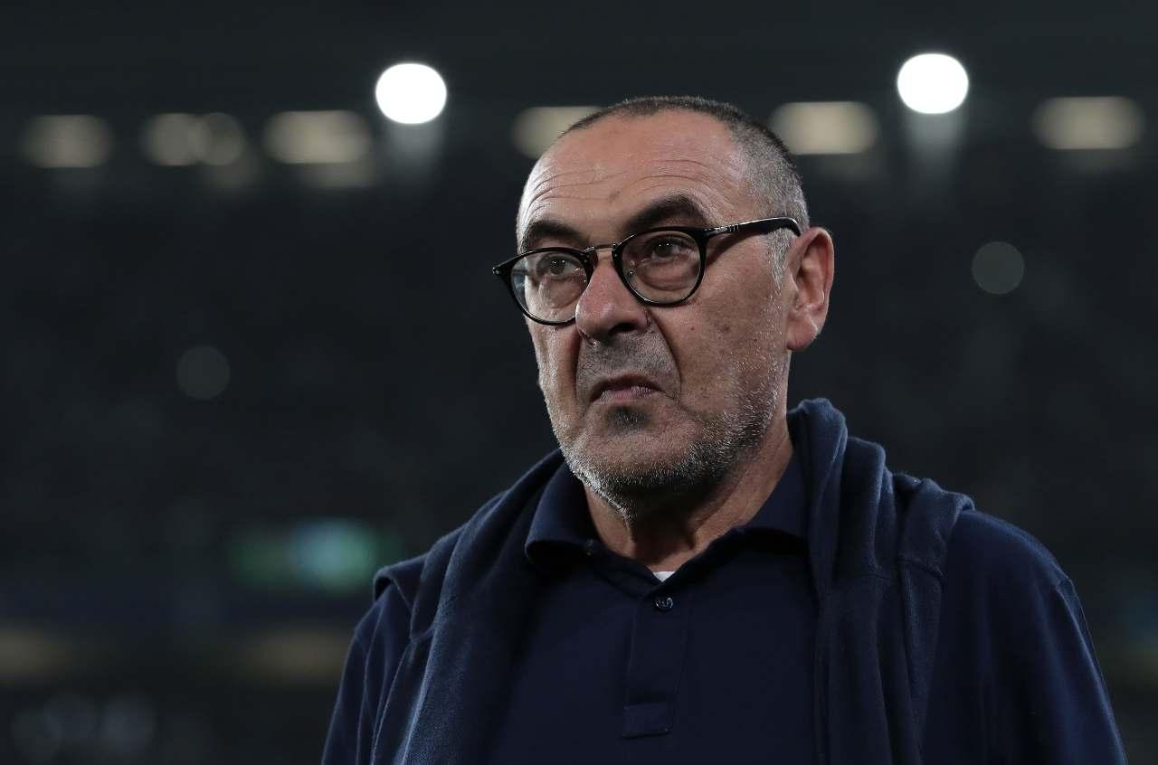 Sarri espulso contro il Milan