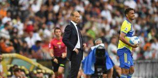 Allegri prima di Juventus-Torino