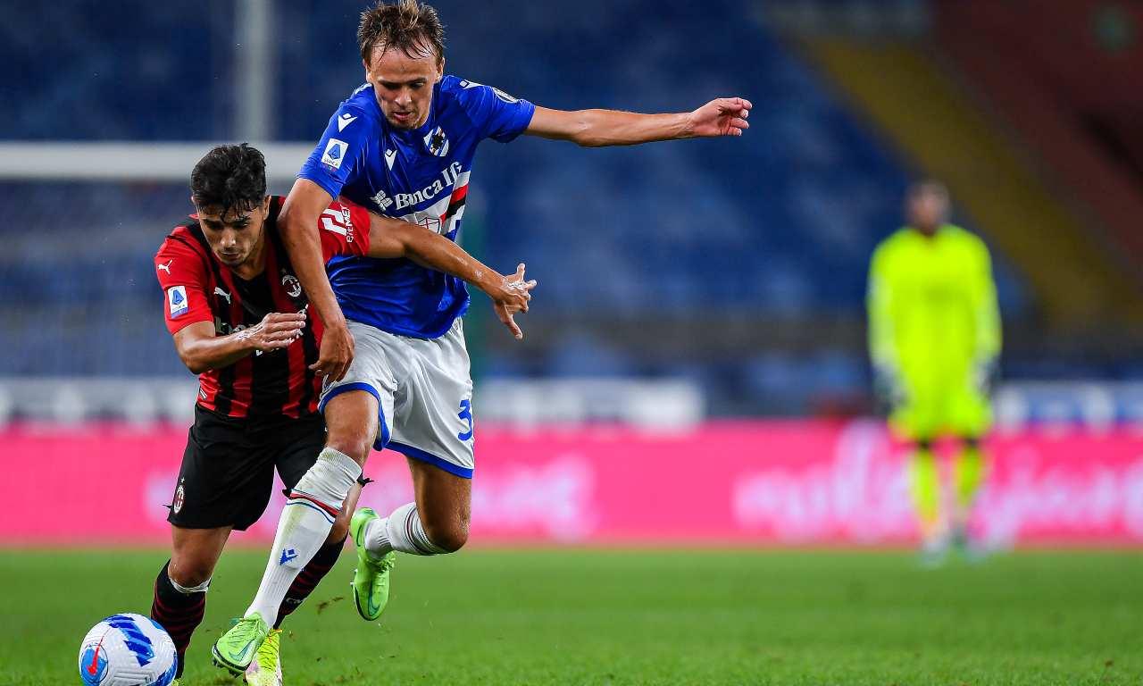 Sampdoria-Milan 0-1, Diaz regala i tre punti