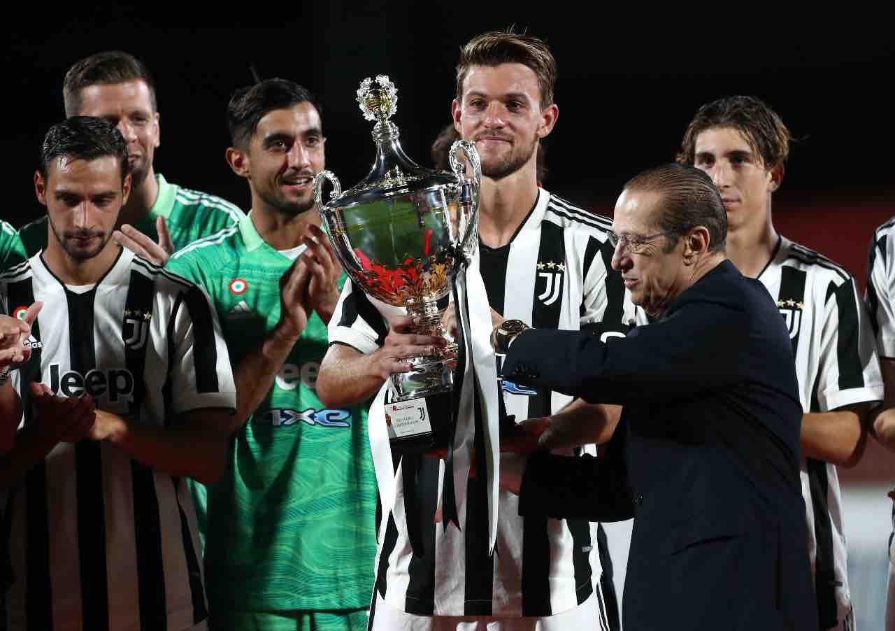 Rugani calciomercato Juventus