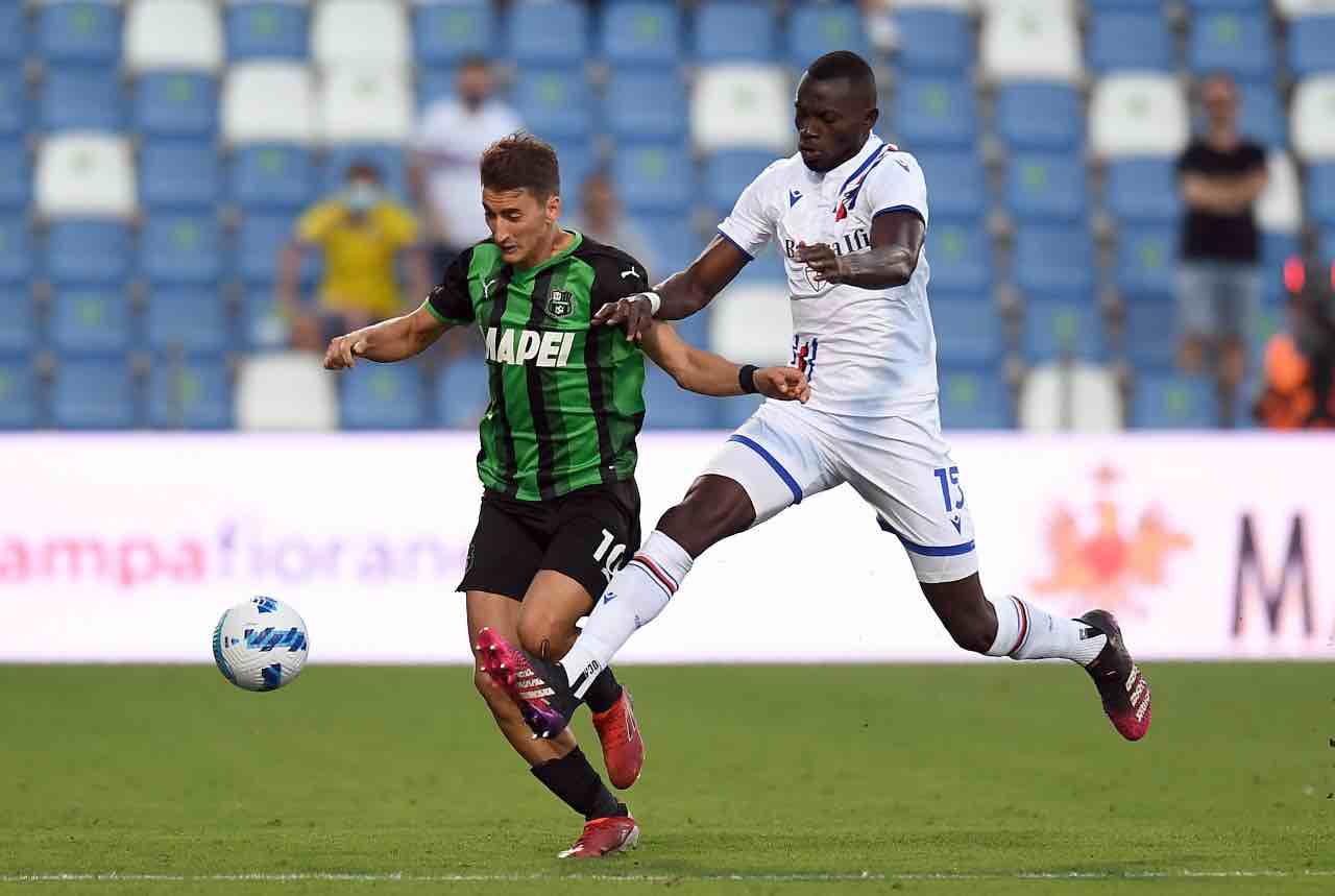 Sassuolo-Sampdoria 0-0