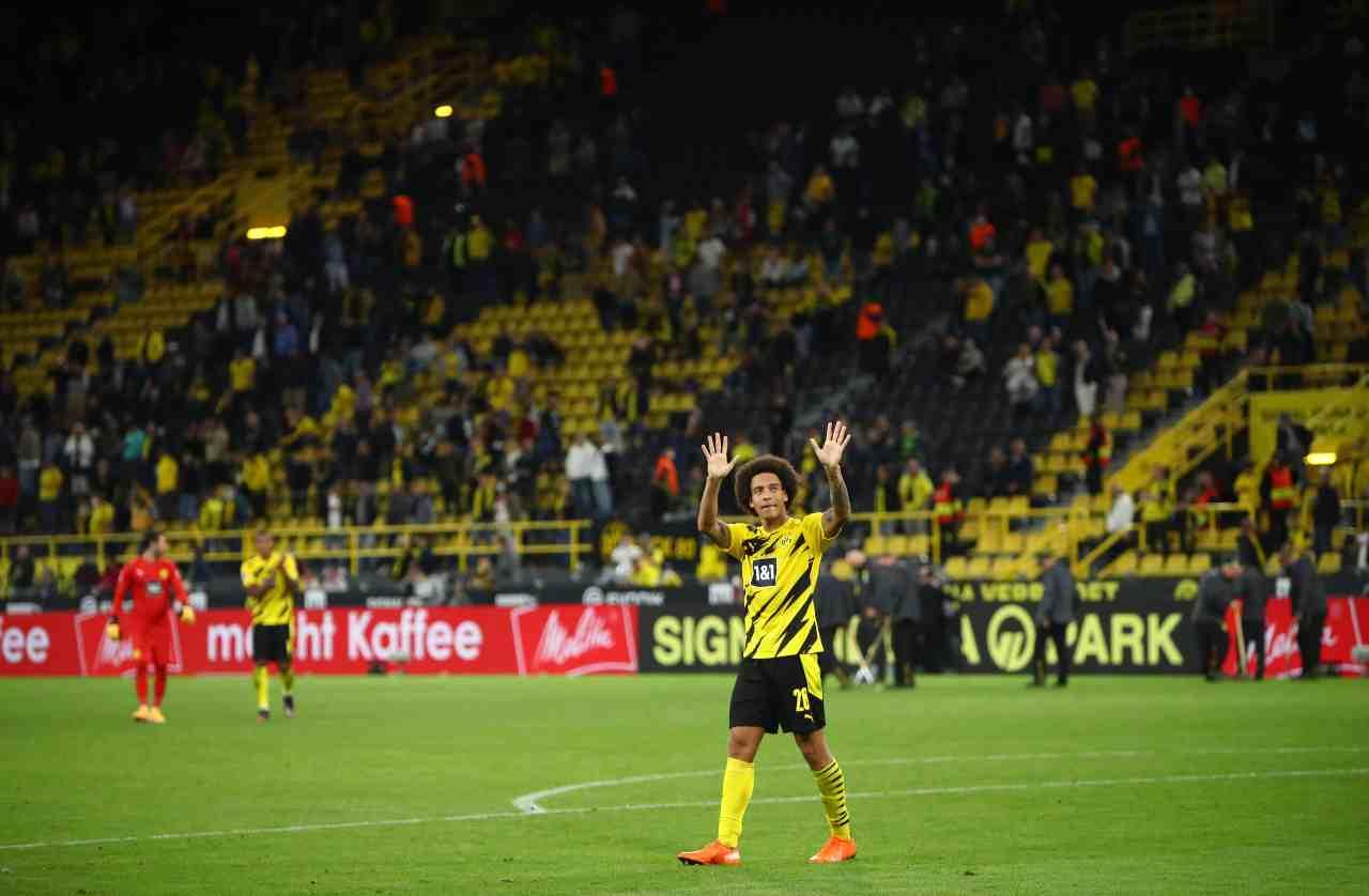 Juventus McKennie Borussia Dortmund Witsel