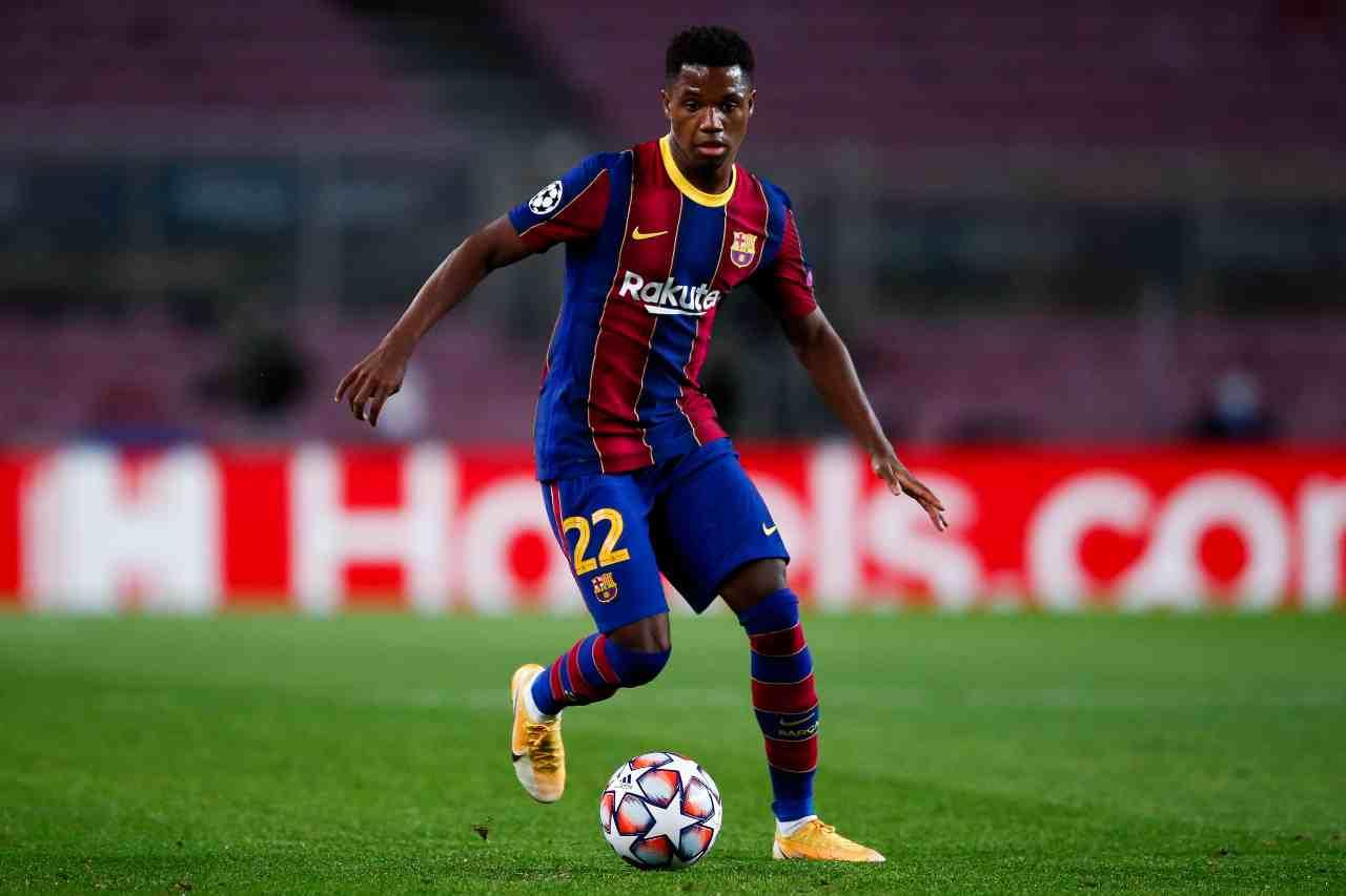 La Juventus monitora la situazione di Ansu Fati: il punto