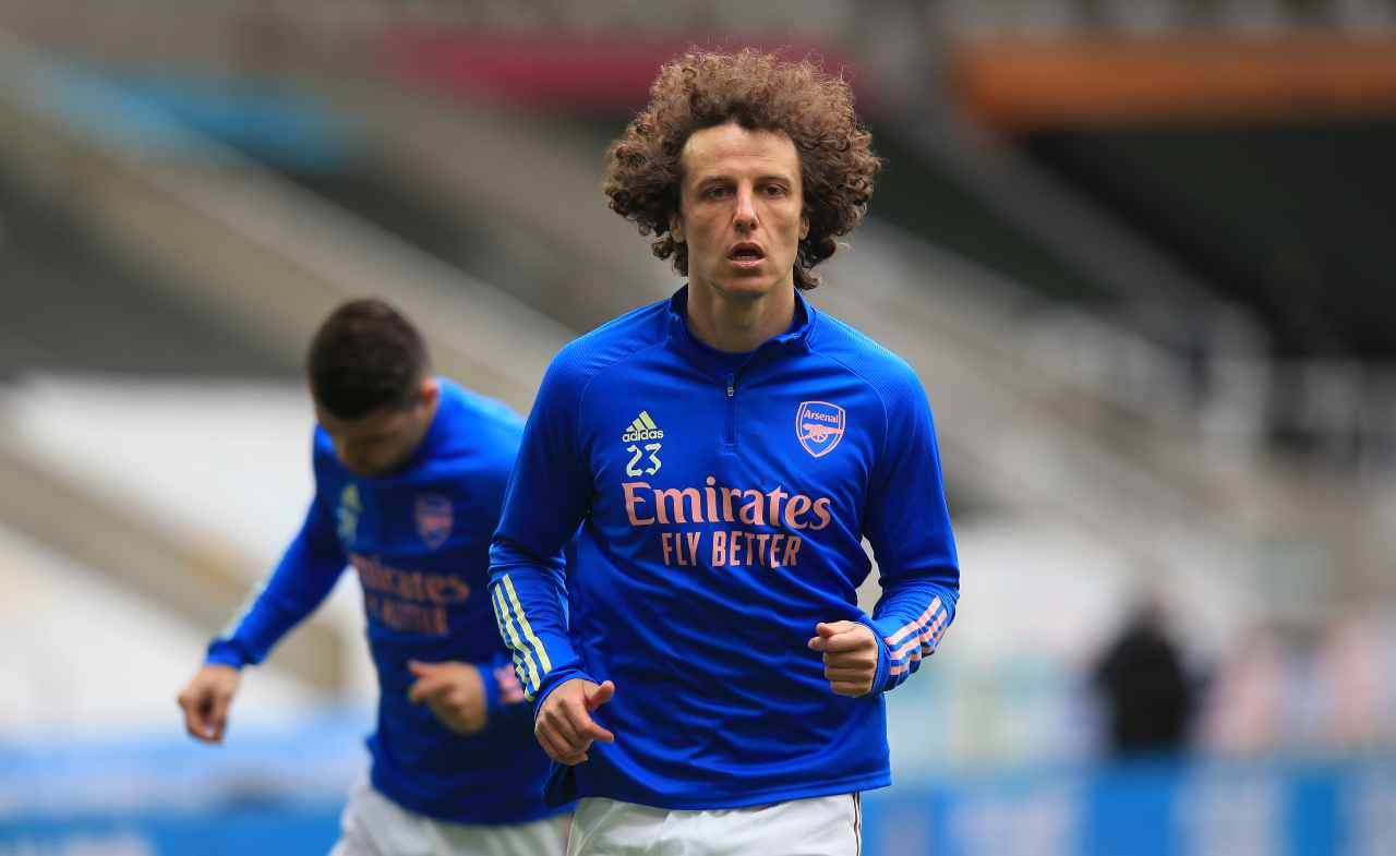 Lazio Salernitana David Luiz