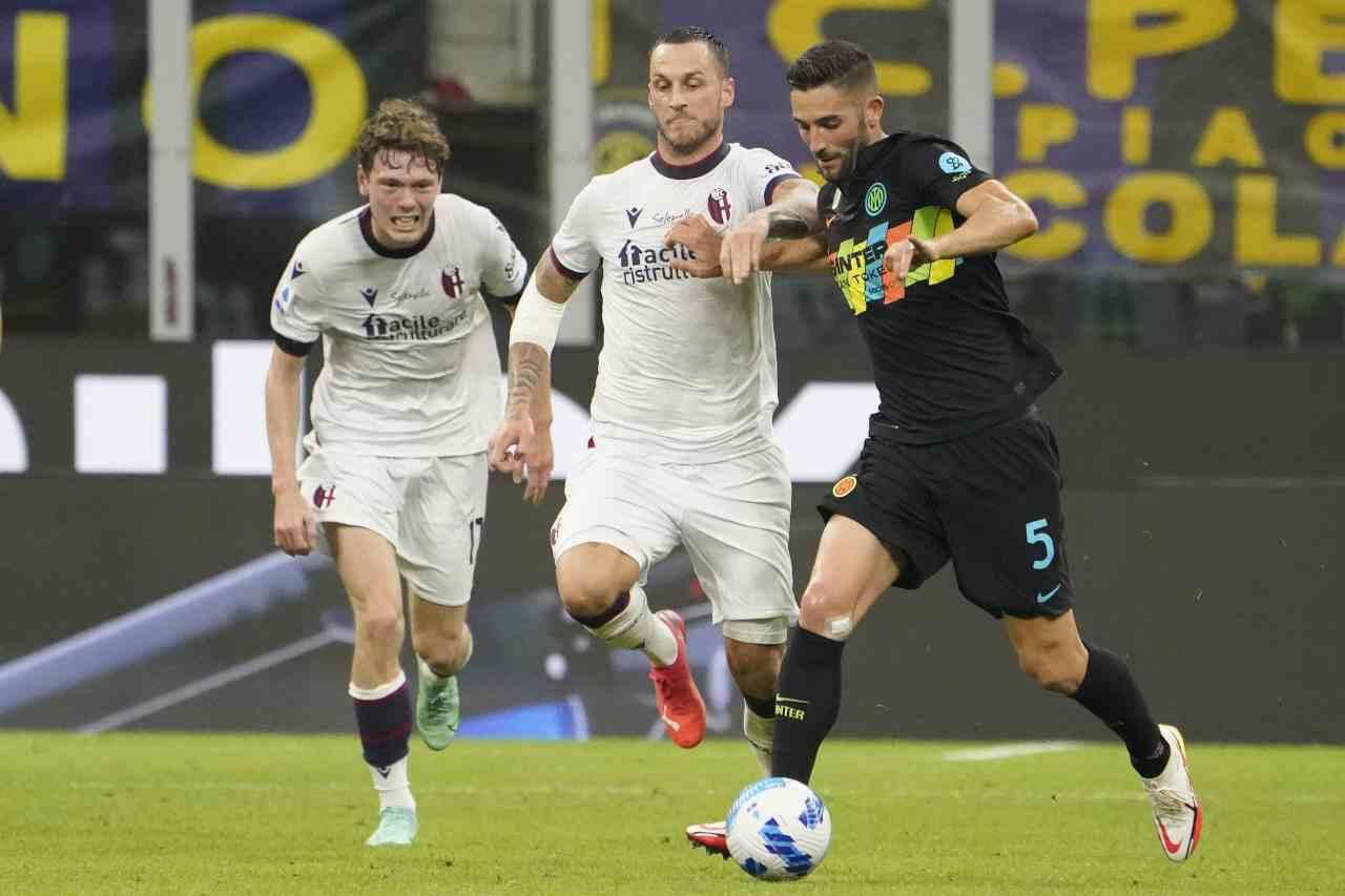Inter Roma Mourinho Gagliardini Smalling
