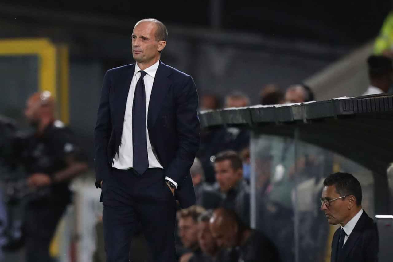 Juventus, Allegri punta Aguero