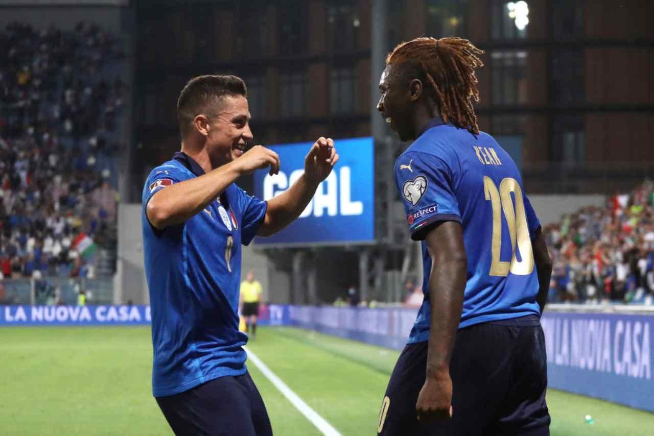 La Juventus gioca d'anticipo: doppia contropartita per Raspadori