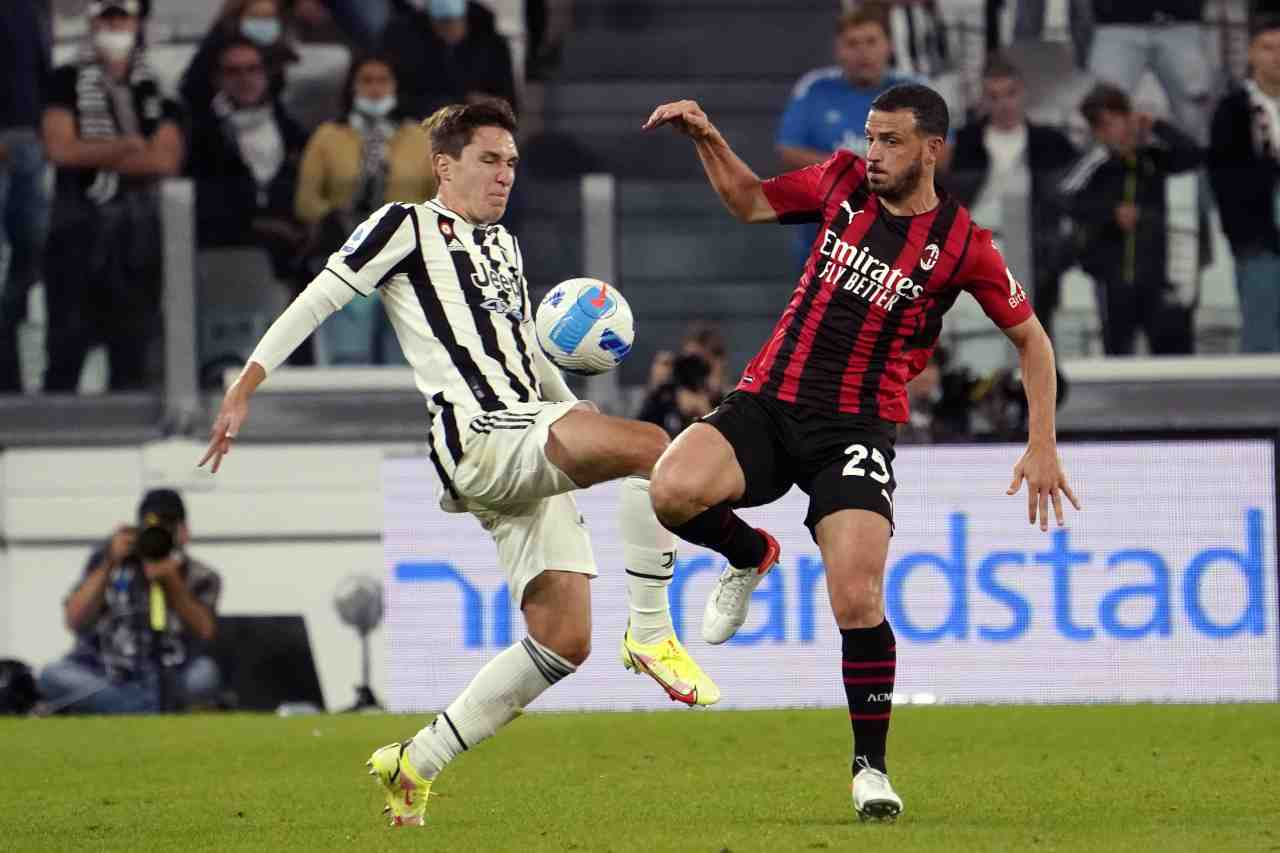 Milan Florenzi infortunio ufficiale