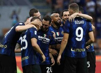 Inter Vidal infortunio Fiorentina ufficiale