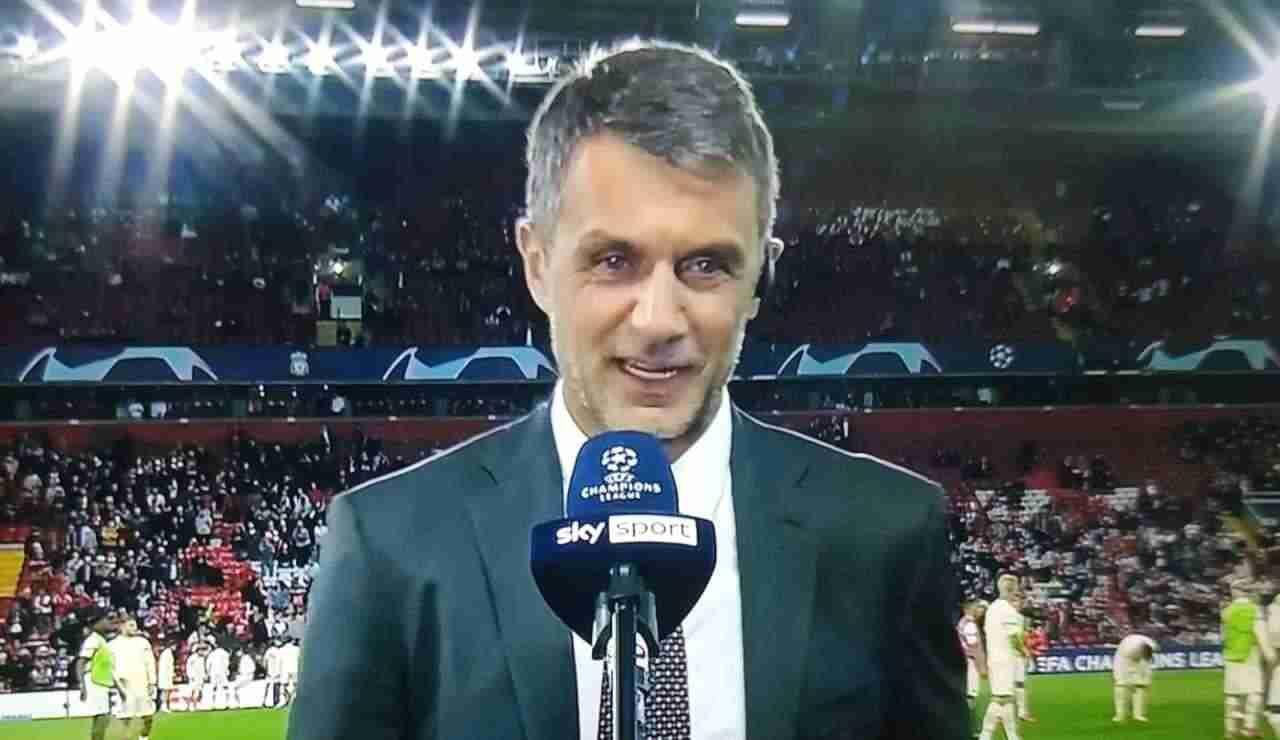 Liverpool Milan Maldini Champions League