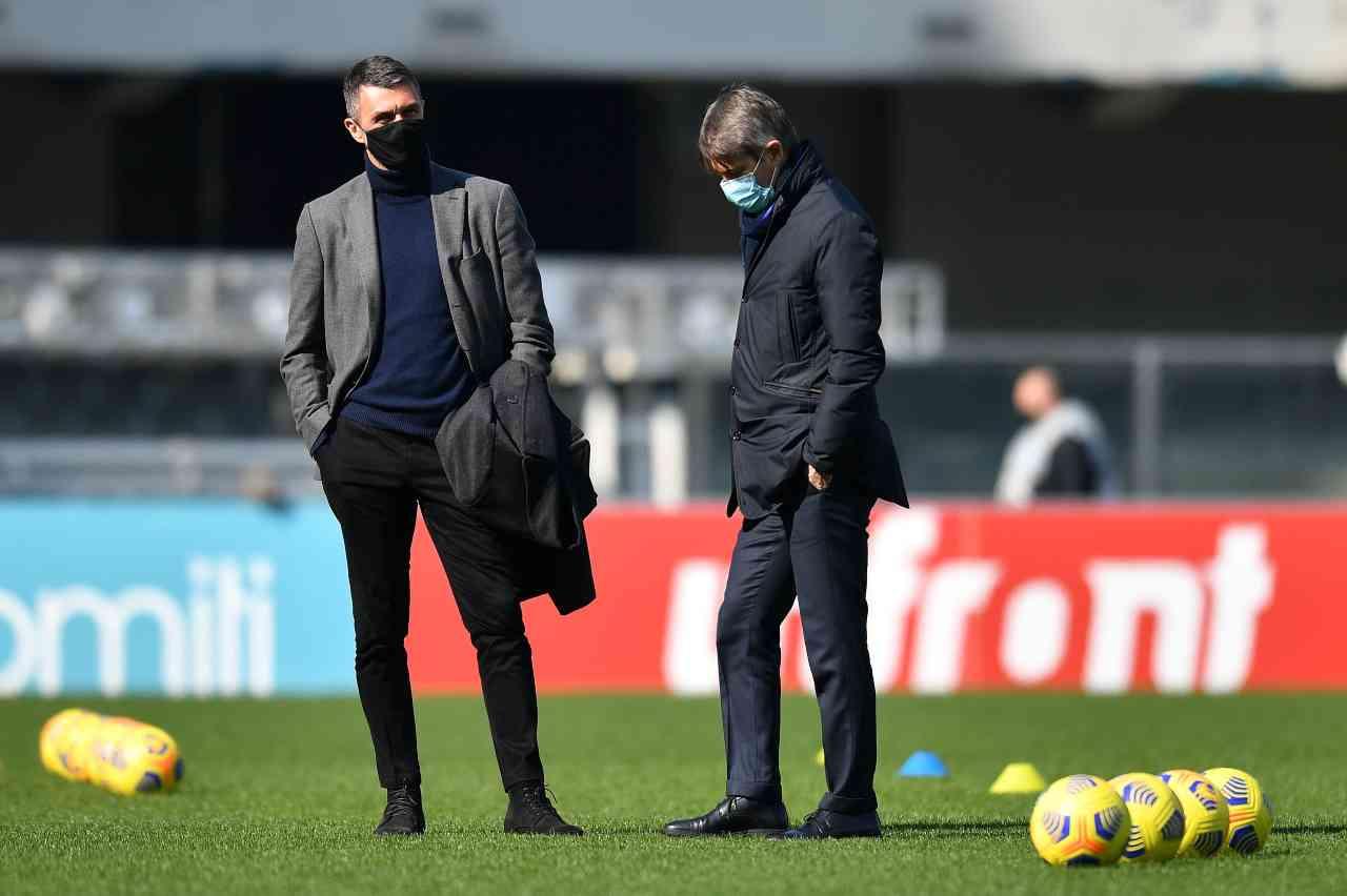 Milan Sampdoria Pobega Conti Caldara Colley Damsgaard