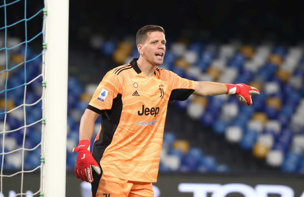 Szczesny calciomercato Juventus