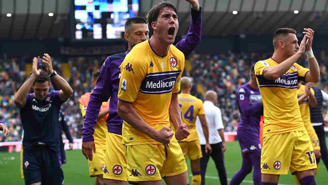 Vlahovic Inter Juventus