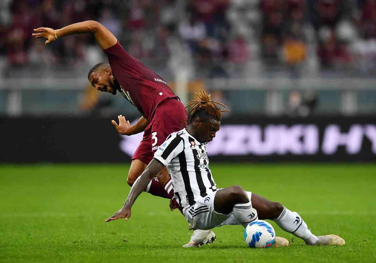 Torino Juventus Kean McKennie Allegri