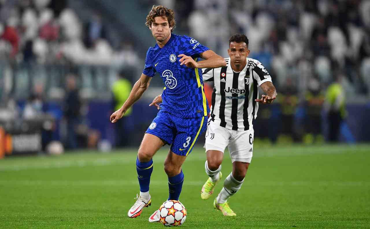 Marcos Alonso Juventus Inter