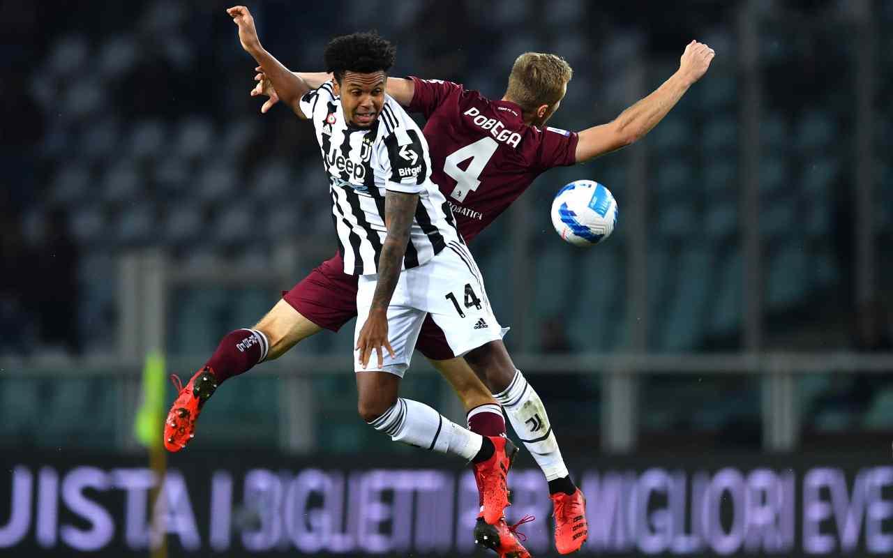 McKennie Sterling Juventus