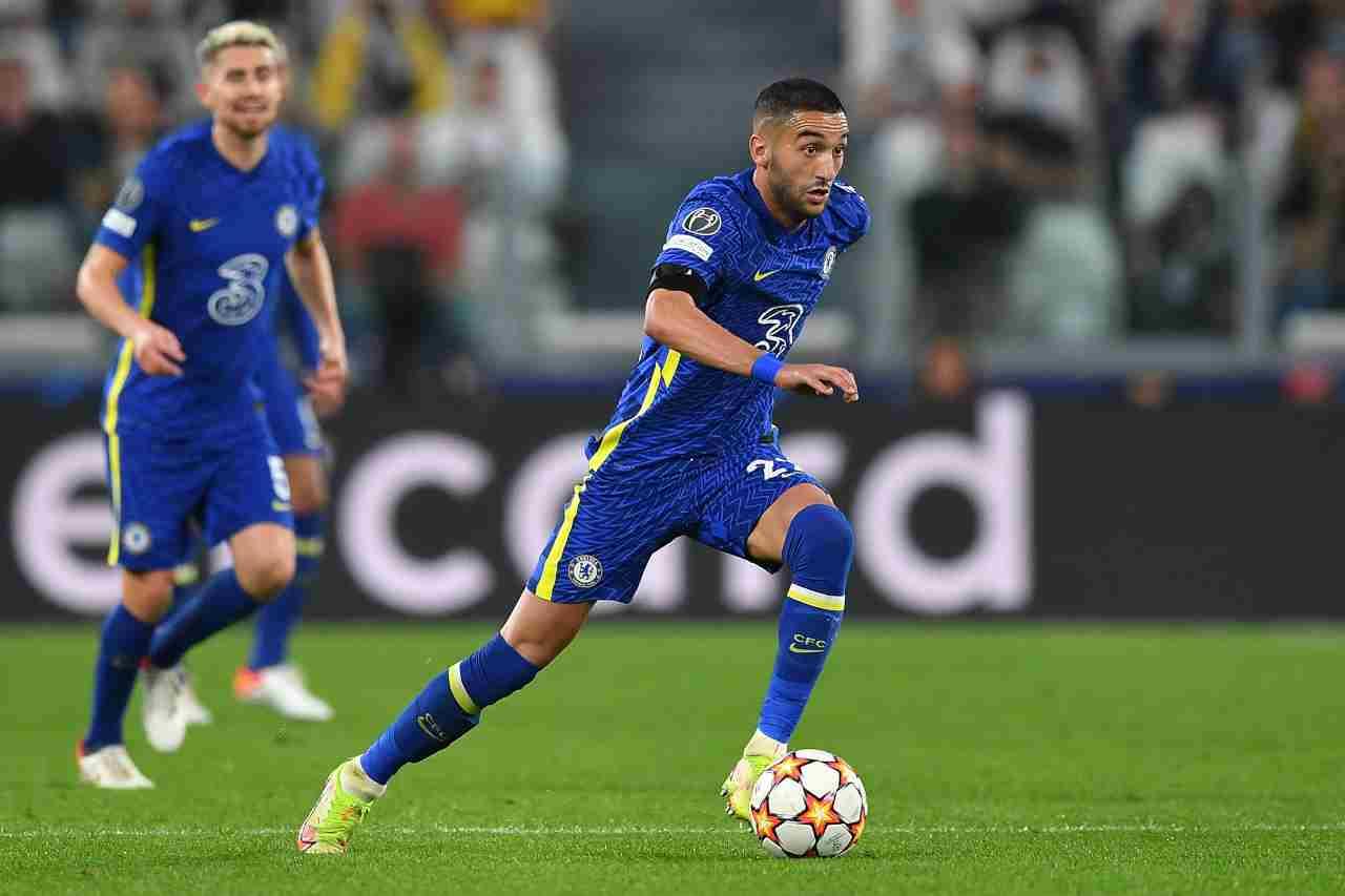 Scambio per Ziyech: Milan tagliato fuori dalla Juve